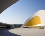 Centro Cultural Oscar Niemeyer in Asturias, Spain.