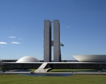 The national congress in Brasilia.