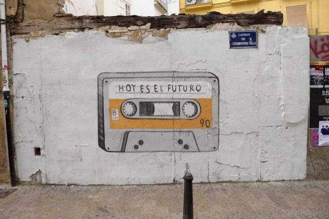 Future is now (Valencia, Spain)