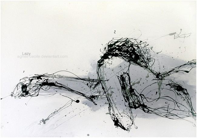 Lazy_by_agnes_cecile
