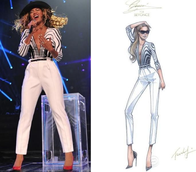 Beyonce+in+Gucci