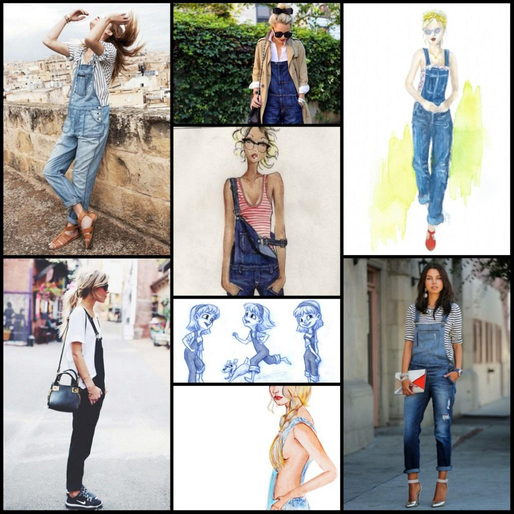 5 Ways To Wear Overalls.