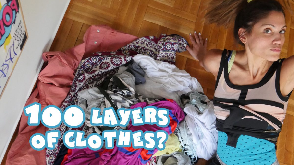 100 Layers Of Clothes? Ε?