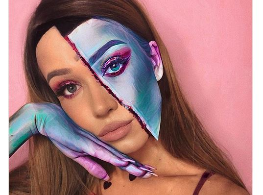14+1 Εντυπωσιακά Halloween Make-up Looks !